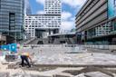 Het nieuwe Jaarbeursplein wordt op zaterdag 15 september feestelijk geopend.