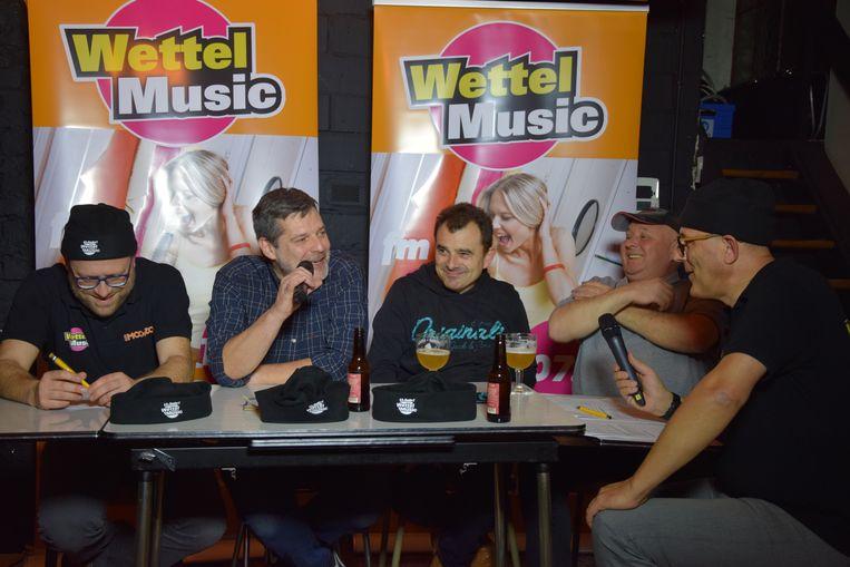De eerste live uitzending van Wettel Music.