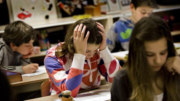 In het nieuwe systeem is het advies van de leraar belangrijker dan de Cito-toets. Beeld anp
