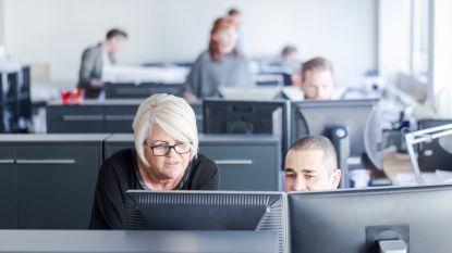 Bediende van 55 jaar verdient 75 procent meer dan 25-jarige collega