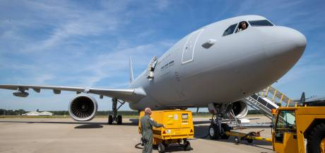 Komst vijf of zes tankvliegtuigen is mijlpaal voor Vliegbasis Eindhoven, zegt kolonel Jurgen van der Biezen