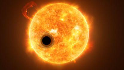 Voor het eerst helium in atmosfeer van exoplaneet gevonden