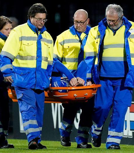 19-jarige FC Eindhoven-verdediger Janssen scheurt kruisband voor derde (!) keer