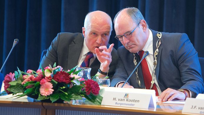 November 2014: Henny van Kooten (r) met zijn voorganger Gerd Prick.
