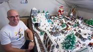 Kleurrijke winterstad hoogtepunt op Lego-beurs Rock That Block