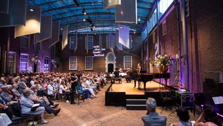 Delft Chamber Music Festival. Beeld Ronald Knapp