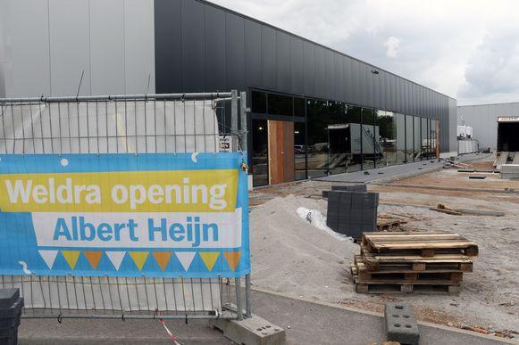 De nieuwe Albert Heijn opent op 10 juli.