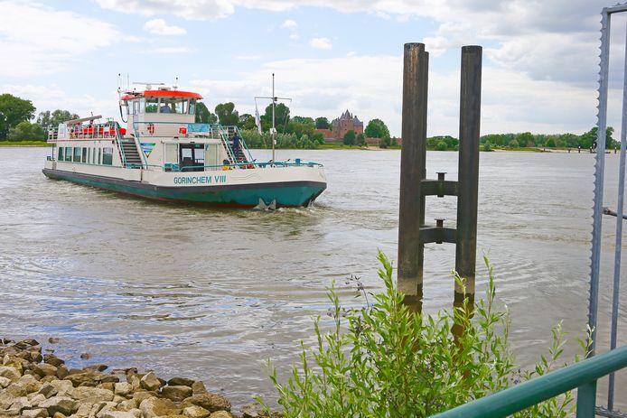 Een veerboot van Riveer, hier op archiefbeeld.
