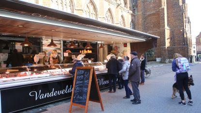 Weer markt in Diest op woensdag, weliswaar in de Kluisbergstraat