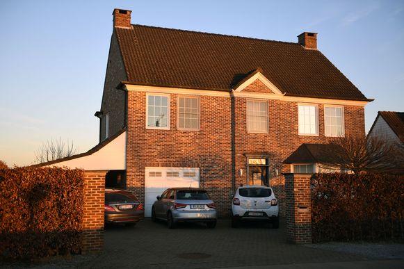 De riante woning van Kris B. in Rotselaar.