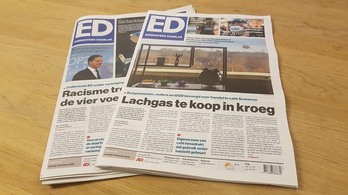 stockadr ed eindhovens dagblad krant print papier