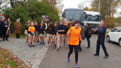 Fakkelloop van Breendonk naar Brussel om einde WOI te herdenken
