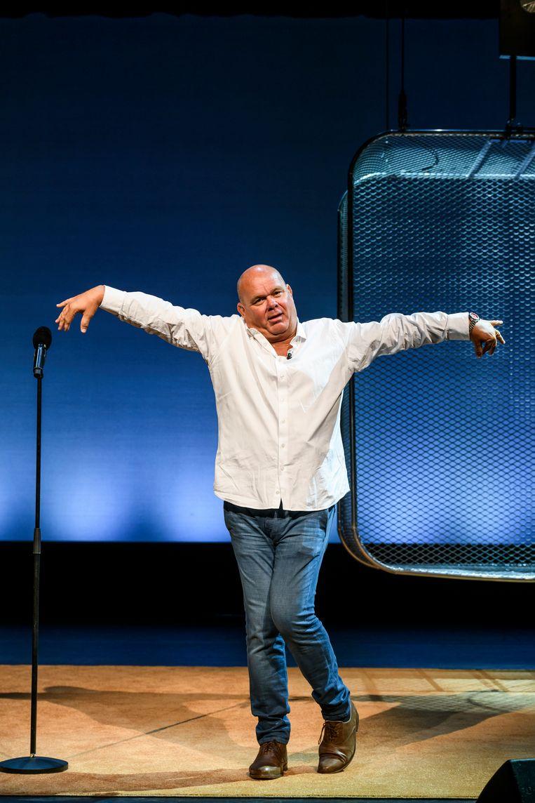 Paul de Leeuw in 'Vette pech!' Beeld Amy van Leiden