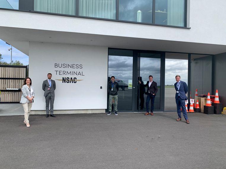 The Aviation Factory heeft zijn intrek genomen in de nieuwe business aviation terminal van NSAC (North Sea Aviation Center).