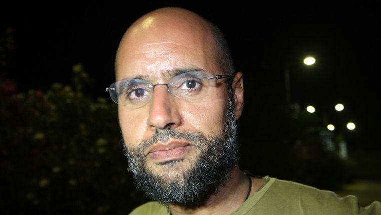 Saif al-Islam Kaddafi op een foto uit 2011 Beeld anp