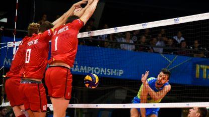 """Red Dragons geven het na spannende vijfsetter uit handen tegen Slovenië: """"Dit ondermijnt onze ambities om ver te geraken op dit WK"""""""