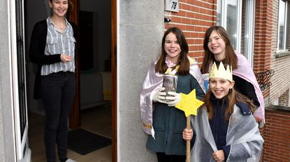 Floor, Marie en Elise gaan Sterzingen