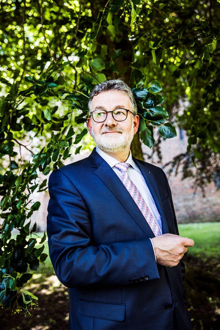 Albert Rodenboog burgemeester van Loppersum. Beeld Aurélie Geurts