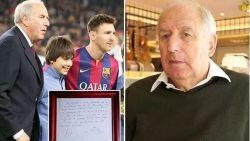 Ontdekker van Messi over hoe hij Leo's contract afsloot op beruchte servet