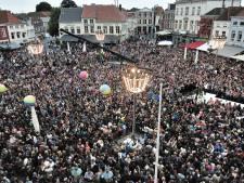Raadhuisplein in Waalwijk straks even het epicentrum van Nederlandstalige muziek
