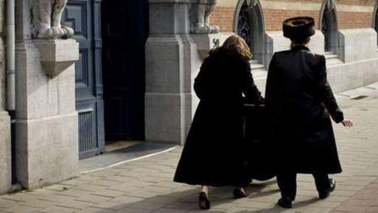 Joden in Amsterdam. Foto GPD Beeld