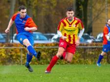 Negen spelers Oranje Blauw buigen pas in blessuretijd voor Terborg