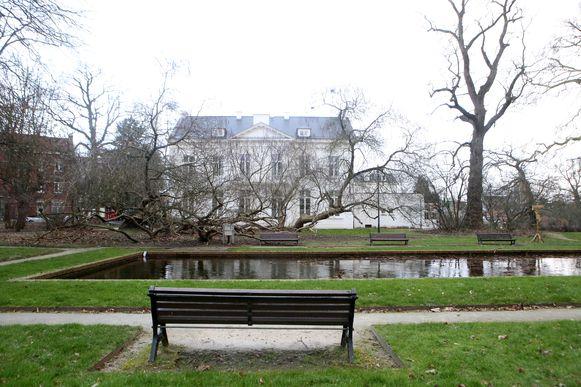 Het is romantisch vertoeven in het stadspark van Tienen.