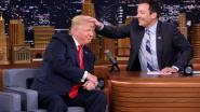"Donald Trump boos op talkshowhost Jimmy Fallon: ""Wees een vent, Jimmy"""