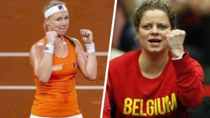 """Meteen België versus Nederland in Dubai: """"Je mag wel zeggen dat Clijsters mijn idool was"""""""