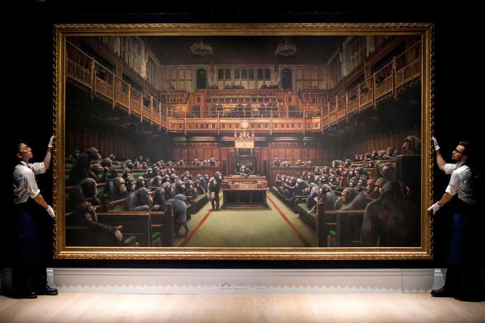 Le Parlement des singes de Banksy