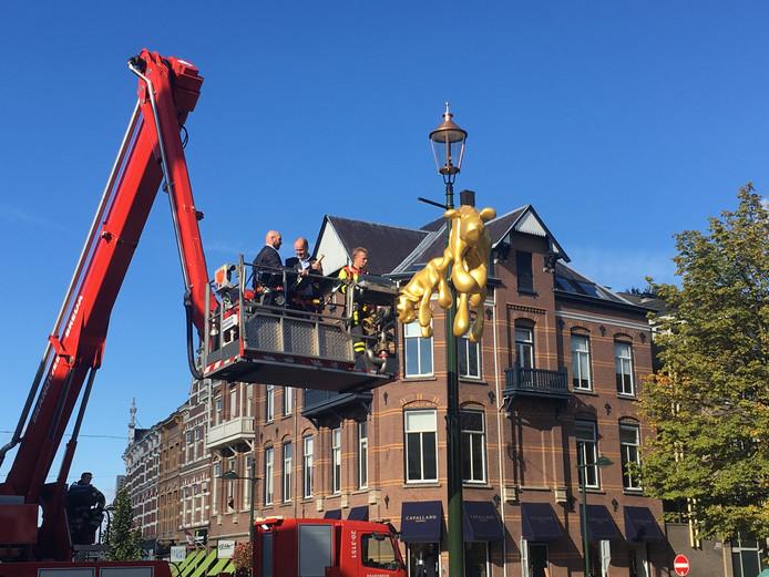Op 19 oktober 2016 werd het standbeeld 'De Koninginnen' onthuld.