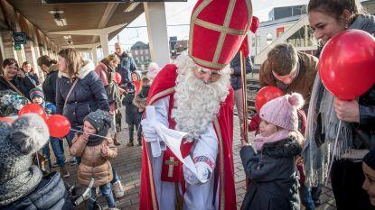 Sinterklaas komt naar Lichtervelde... met de trein
