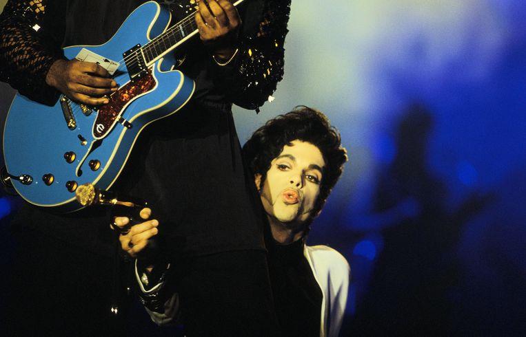 Prince in 1993, in Parijs.