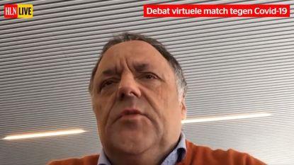 Bekijk hier het voetbaldebat van AA Gent rond benefietmatch tegen Covid-19 met Marc Van Ranst, Ivan De Witte en Marc Degryse