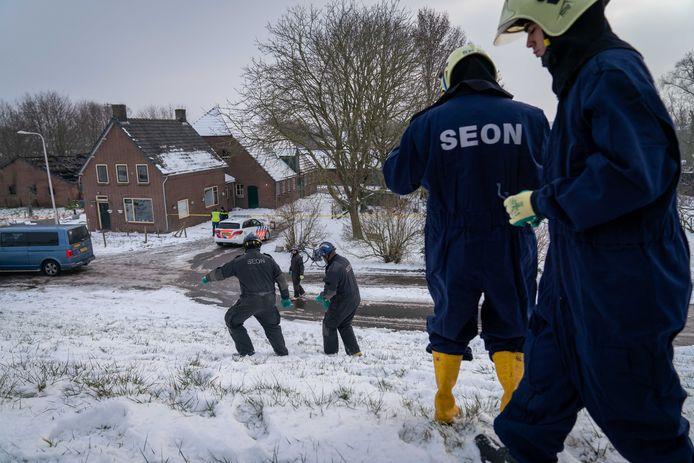 Aan de Doornenburgse Rijndijk ontplofte een drugslab.