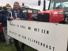 Boeren uit de regio hebben het Malieveld bereikt: 'Dit is er eentje voor in de boeken hoor'