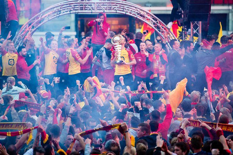 KV Mechelen won vorig jaar de Beker van België.