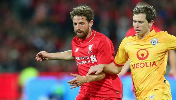 Joe Allen (links).