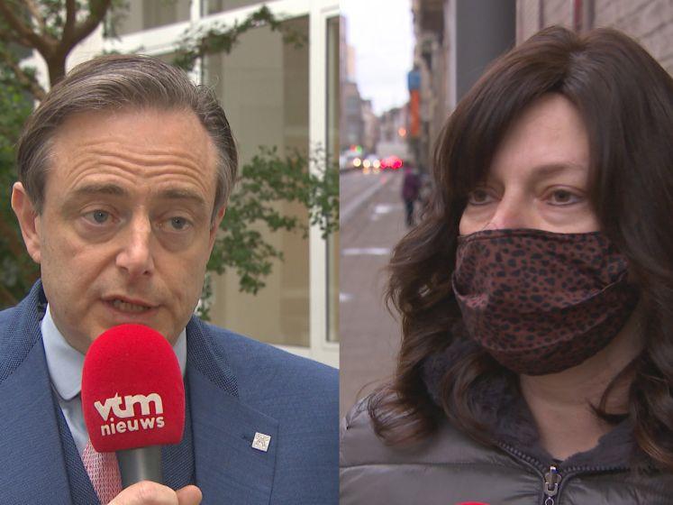 """Joodse vrouw niet opgezet met oproepingsbrief: """"Bart De Wever wil niet stigmatiseren, maar ik verwacht mijn gele ster al in de brievenbus"""""""