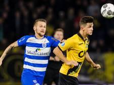 De zaterdagavond en gepromoveerde clubs liggen PEC Zwolle wel
