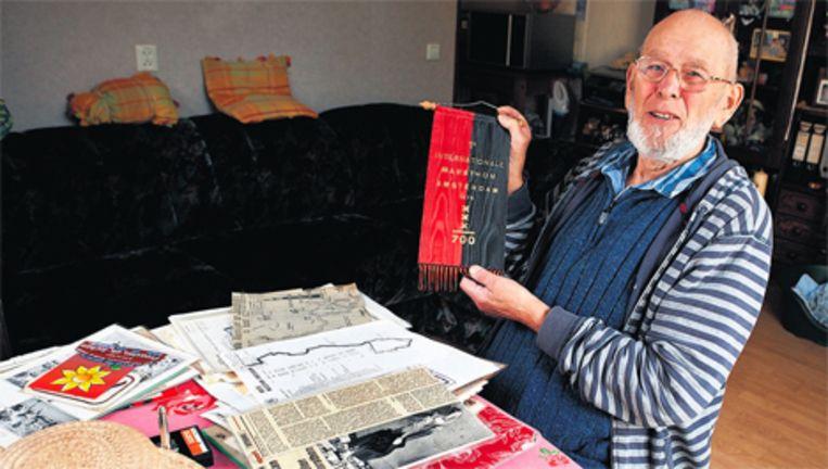 Herman Olij: ''Er was nooit wat in Amsterdam.'' Beeld