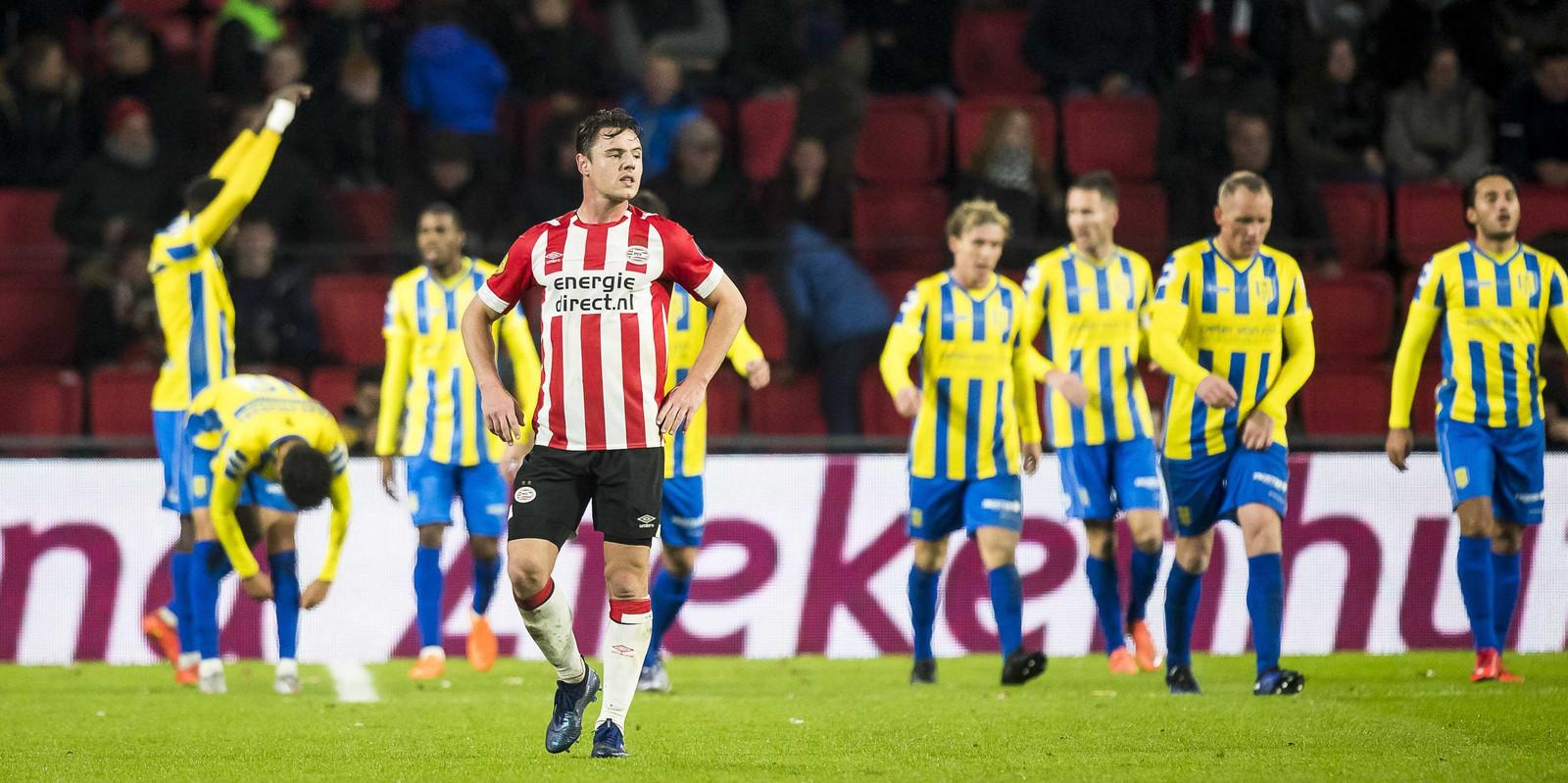 Met een B-elftal liet PSV zich vorig jaar in de beker verrassen door RKC.
