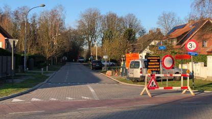 """Werken aan Heizijde liggen stil: """"Maar straat blijft afgesloten voor verkeer"""""""