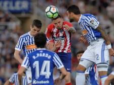 Atlético Madrid verliest en ziet Real naderen