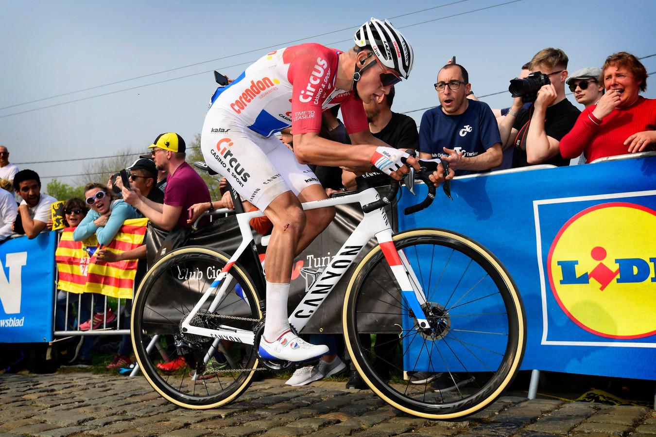 Mathieu van der Poel in de Ronde van Vlaanderen