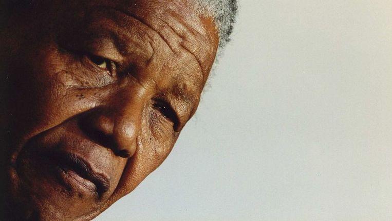 Mandela in 1994. Beeld ANP