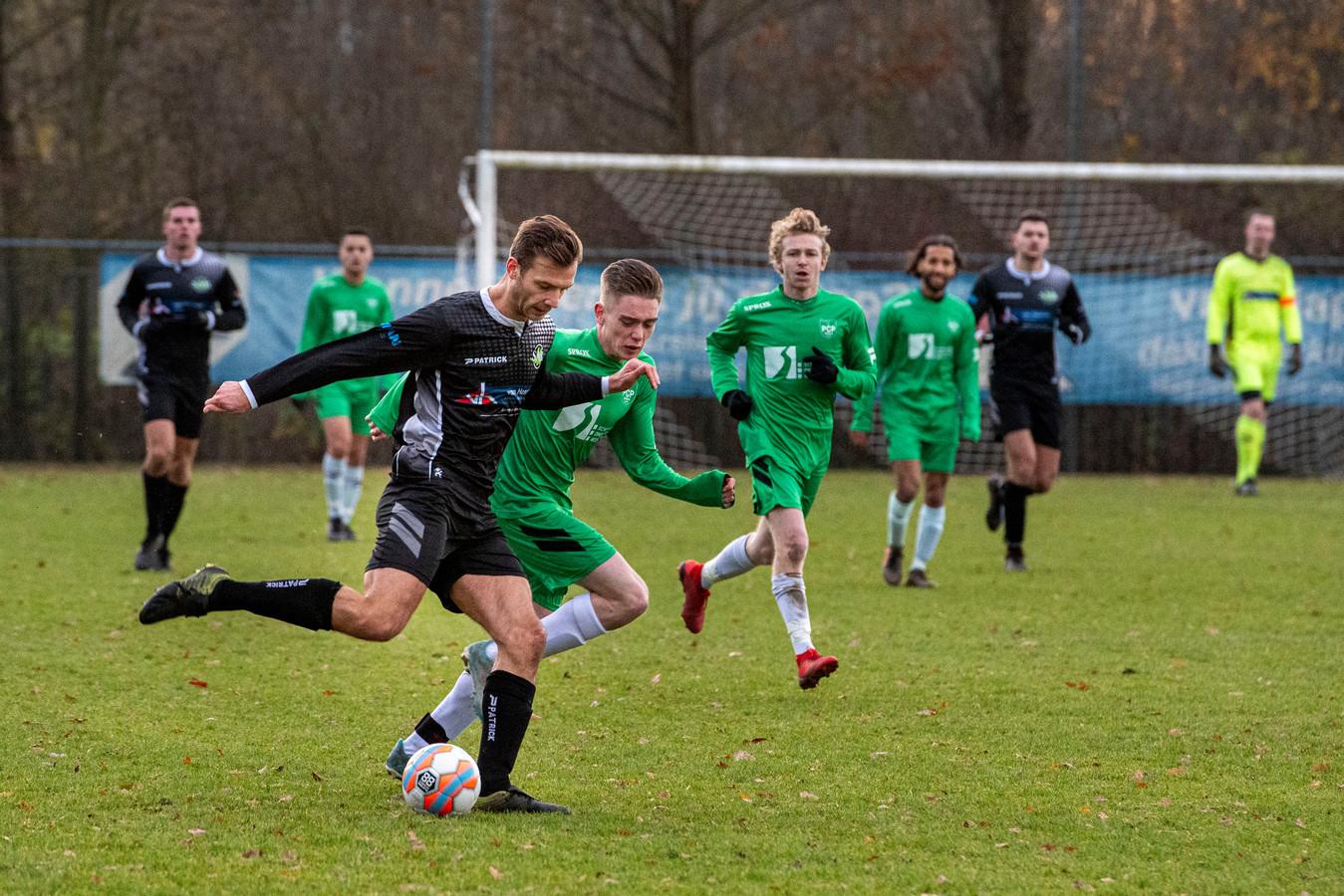 Joris van de Lande scoorde drie keer voor SAB.