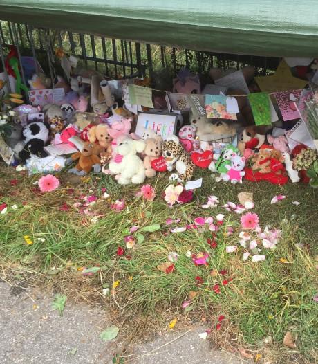 Herdenkingsplaats voor verongelukte Lieke opgeruimd in overleg met haar familie