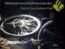 Fietsendieven aangehouden na achtervolging in Gorinchem