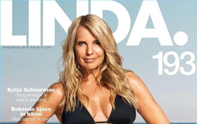 Linda de Mol maakt krachtig statement en gaat uit de kleren voor eigen magazine